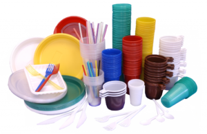 Disposable tableware and microplastics in cosmetics banned in the European Union