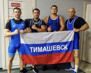 Наши атлеты-сильнее всех!
